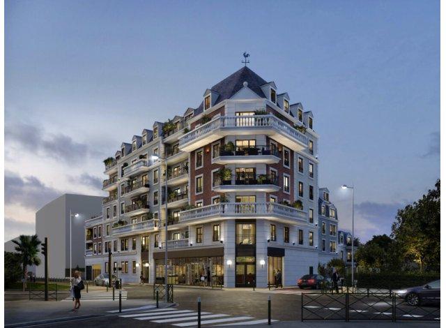 Programme immobilier loi Pinel La Chancellerie à Le Blanc Mesnil