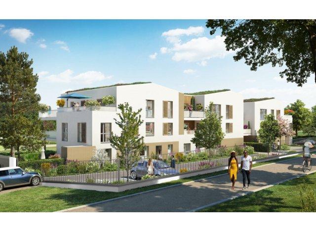 Programme immobilier neuf éco-habitat Le Clos du Marverand à Arnas