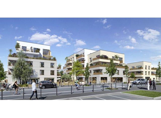 Programme immobilier neuf éco-habitat Domaine des Lys à Carrières-sous-Poissy