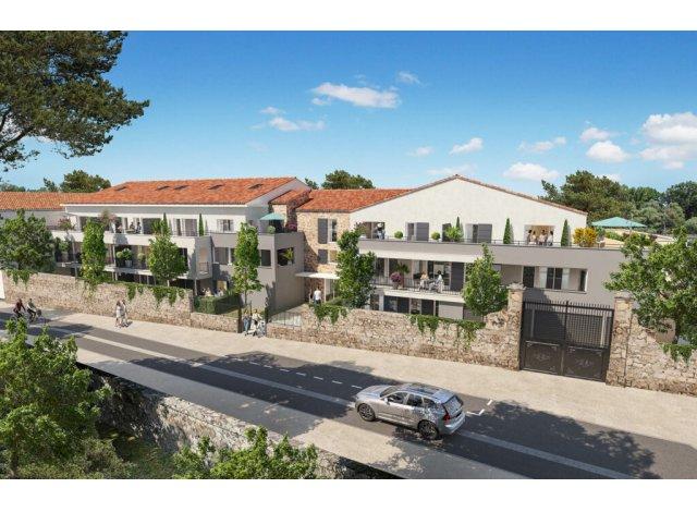 Programme immobilier loi Pinel Esprit Village à Vendargues