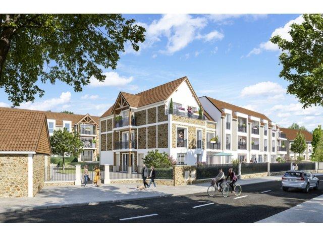 Investissement locatif en Ile-de-France : programme immobilier neuf pour investir O'Coeur Village à Villabe