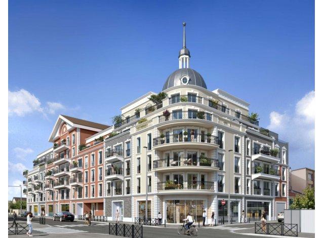 Programme immobilier loi Pinel Le Dôme à Le Blanc Mesnil