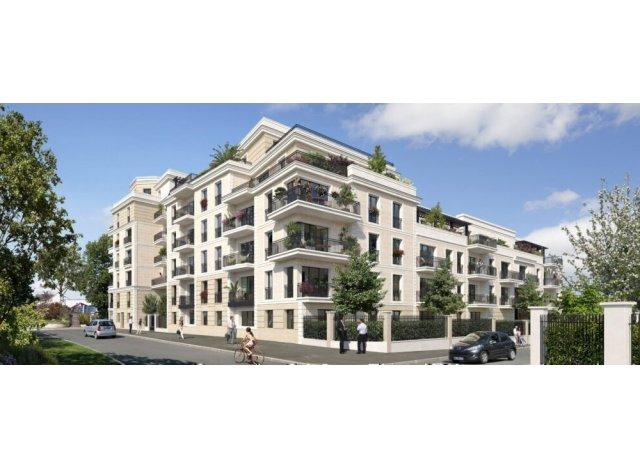 Programme immobilier neuf éco-habitat Le Patio des Arts à Le Perreux-sur-Marne