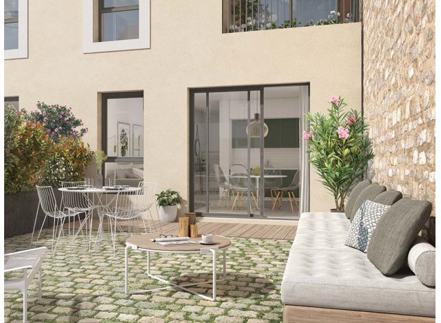 Programme immobilier neuf Villas Marie Massy