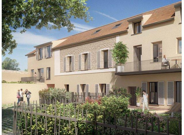 Programme immobilier loi Pinel Villas Marie à Massy