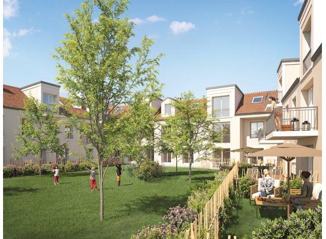 Investissement locatif en Ile-de-France : programme immobilier neuf pour investir Le Coteau de Villoison à Villabe