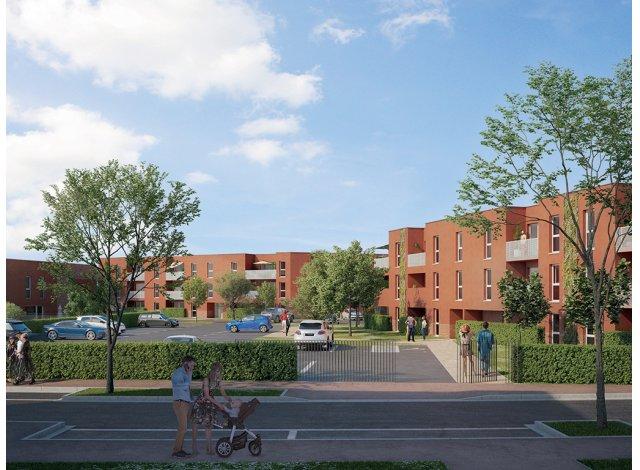 Programme immobilier loi Pinel Le Clos Marguerite à Seclin