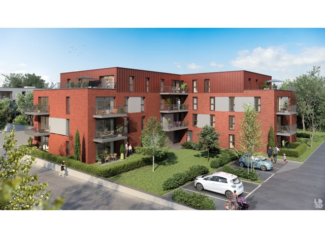 Programme immobilier loi Pinel Urban t - Appartements à Tourcoing