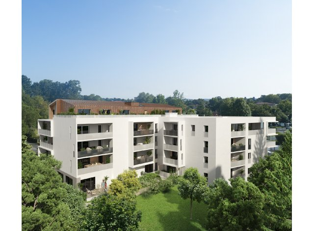 Programme immobilier loi Pinel Perspectives Belay à Anglet