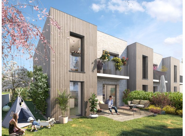 Programme immobilier loi Pinel Les Jardins de la Halle à Aubergenville