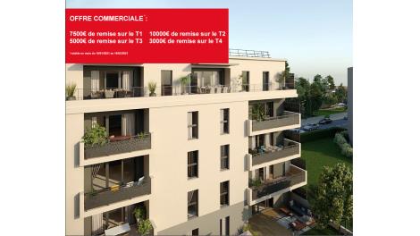 Programme immobilier loi Pinel Carré Florissant à Annemasse