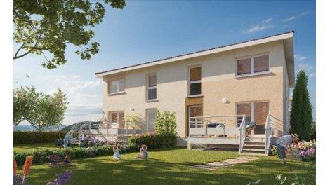 Programme immobilier loi Pinel Les Carrés des Trèfles à Bourgoin-Jallieu