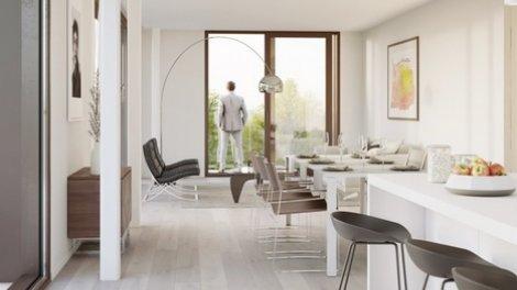Écohabitat immobilier neuf éco-habitat Corbas Eden Bron