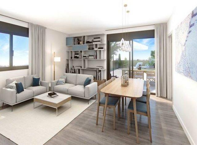 Programme immobilier loi Pinel Le Petit Bruges à Bruges