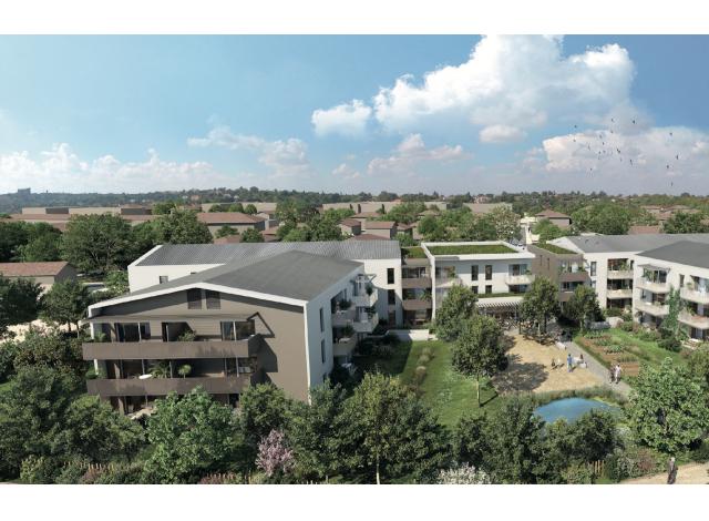 Programme immobilier loi Pinel Silver Garden à Feyzin