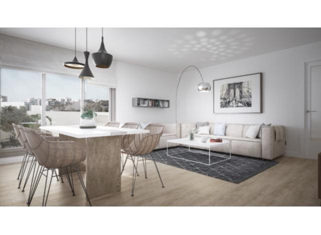 Programme immobilier loi Pinel Les Jardins de Grenoble à Grenoble