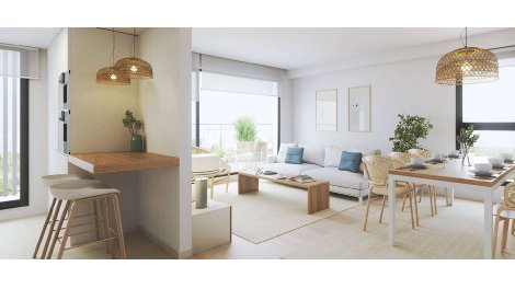 Écohabitat immobilier neuf éco-habitat Coeur Lyon 9ème