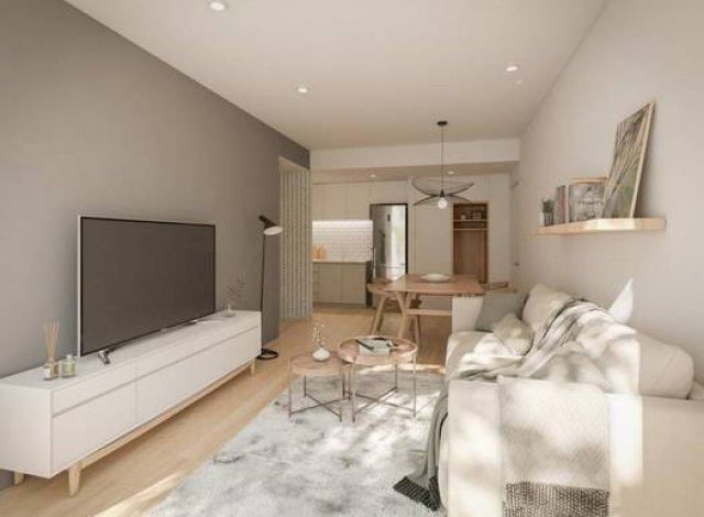 Appartements et maisons neuves éco-habitat Le 44 à Nantes