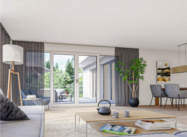 Programme immobilier loi Pinel Carré Rangueil à Toulouse