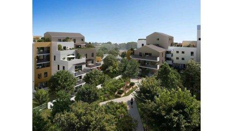 Programme immobilier loi Pinel Nouveaute Port Marianne à Montpellier