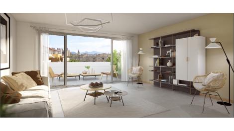 Programme immobilier loi Pinel Patio Serena à Marseille 5ème