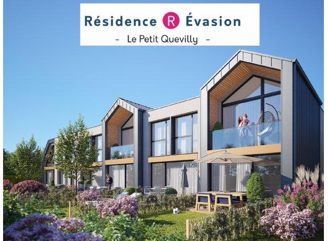 Programme immobilier loi Pinel R Evasion à Le Petit-Quevilly