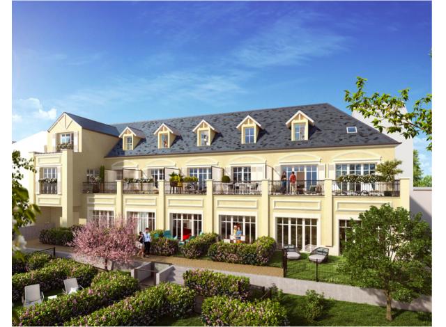 Programme immobilier neuf éco-habitat Residence Calixte à Trouville-sur-Mer