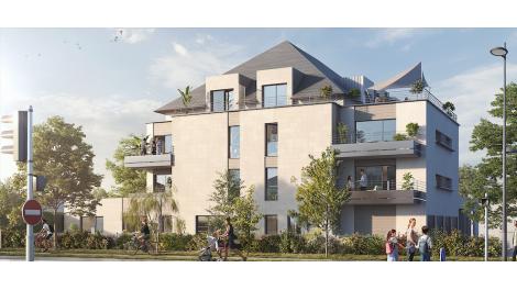 Programme immobilier neuf éco-habitat Le Caulaincourt à Tours