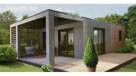 Immobilier neuf éco-habitat Les Cottages du Lac de Jouarres à Olonzac