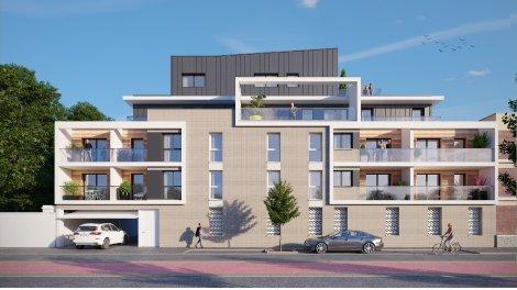 eco habitat neuf à Déville-les-Rouen
