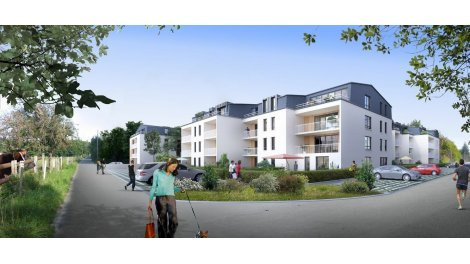 Appartement neuf Le Mesnil - Esnard éco-habitat à Le-Mesnil-Esnard
