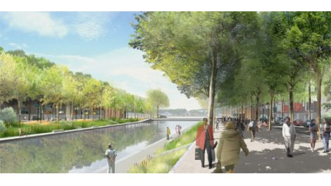 Investissement programme Pinel Rouen - Éco Quartier Flaubert