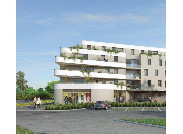 Programme immobilier loi Pinel Résidence Sainte-Victoire à Bihorel