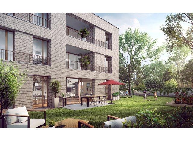 Programme immobilier neuf éco-habitat Fleury sur Orne - Éco Quartier à Fleury-sur-Orne