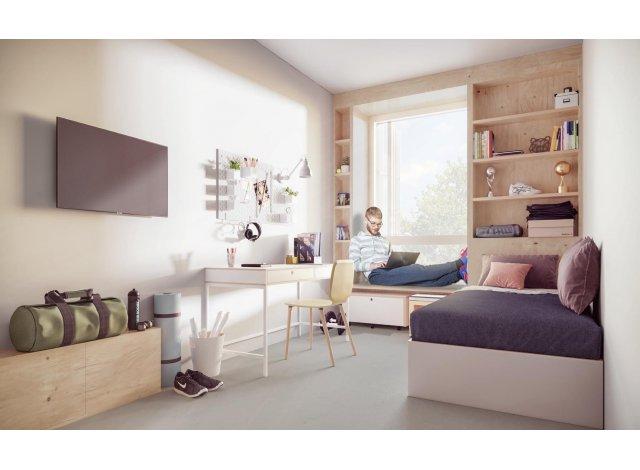 Éco habitat éco-habitat Rouen Invest Étudiant à Rouen