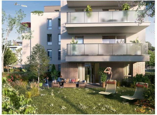 Programme immobilier loi Pinel Jardin des Plantes à Rouen
