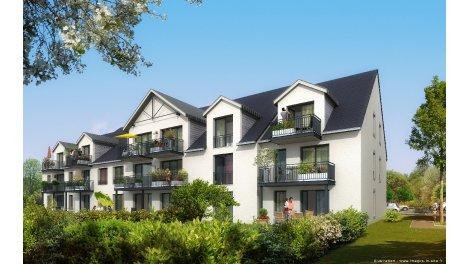Programme immobilier loi Pinel Residence Villas Saint Andre à Fleury-sur-Orne