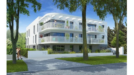 Programme immobilier loi Pinel Albert 1er à Saint-Nazaire
