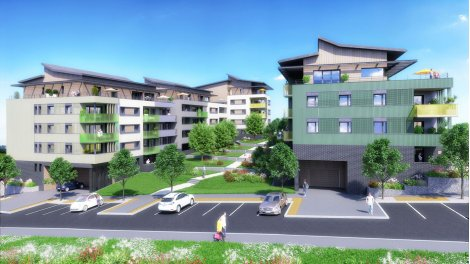 Programme immobilier neuf éco-habitat La Cour des Lodges