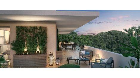 Programme immobilier loi Pinel Opéra Nature à Marseille 9ème