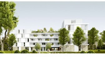 Eco habitat programme Le Cèdre Blanc Marseille 8ème