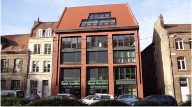 Écohabitat immobilier neuf Les Berges du Vieux Lille éco-habitat à Lille