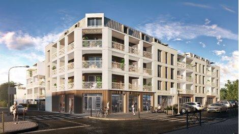 Programme immobilier loi Pinel Les Jardins de Balzac à Angers