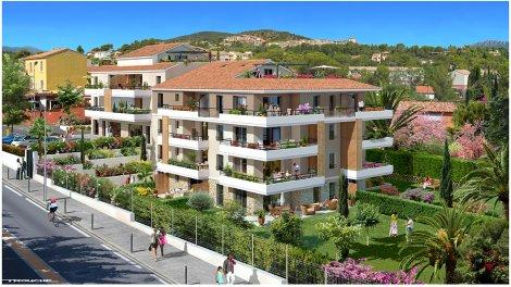 Appartement neuf Villattilio éco-habitat à Saint-Raphaël