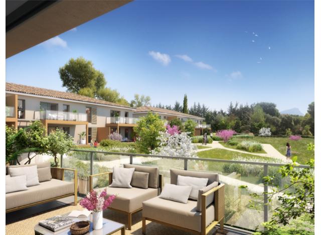 Programme immobilier loi Pinel Obellià à Aix-en-Provence