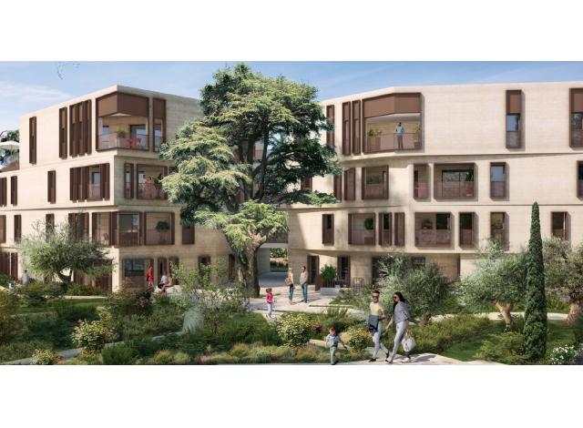 Programme immobilier neuf éco-habitat Promesse à Montpellier