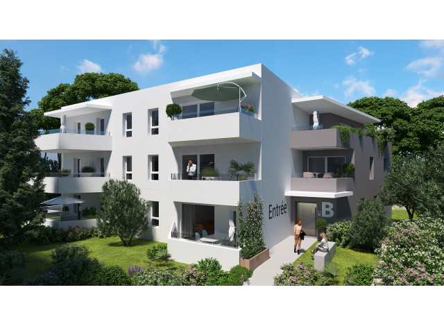 Programme immobilier loi Pinel Lodge Emeraude à Montpellier