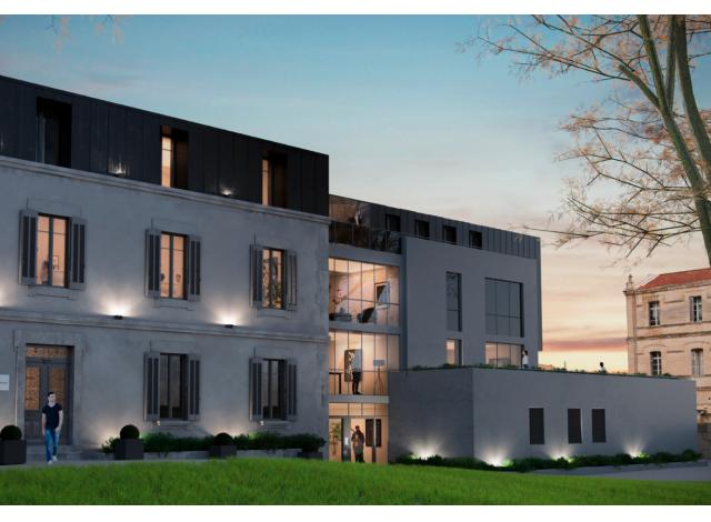 Programme immobilier loi Pinel Parc Vendôme - Boutonnet à Montpellier