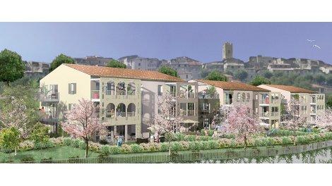 Appartement neuf Entrevues éco-habitat à Vence