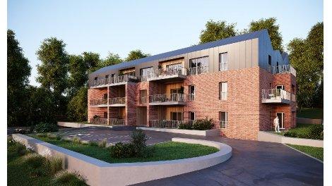 Programme immobilier loi Pinel Terrasse du Rebberg à Mulhouse